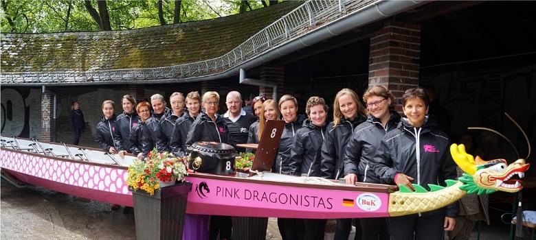 Badass Women: Die Pink Dragonistas